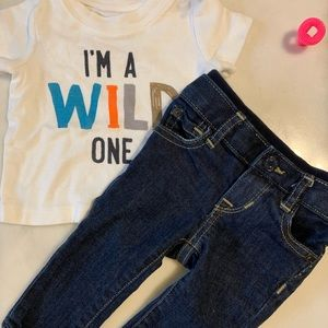 Wild One Gap Skinny Jeans Outfit